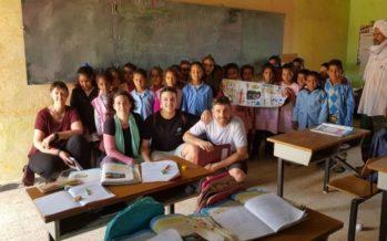 Manu Clemente visita los campus de refugiados saharauis