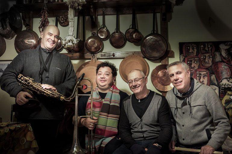 Gavino Murgia Blast Quartet
