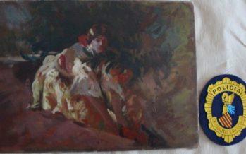 Un galerista de Benidorm, detenido por comerciar con obras falsas de Sorolla, Pinazo y Benlliure