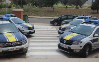 La Policía Local de Chiva detecta posibles positivos por drogas en dos semanas de controles