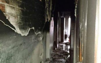 Un incendio en una vivienda de Xeraco obliga a desalojar todo un edificio