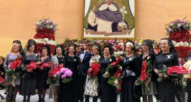 La imagen de San Vicente Ferrer recorrió las calles del centro de Valencia