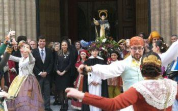 Traslado de Sant Vicent Ferrer del Altar del Mercado de Colón