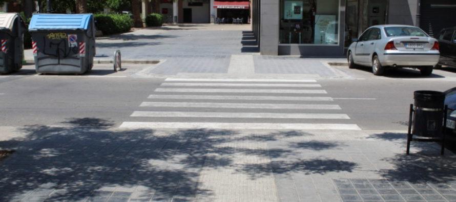 Mejoran la accesibilidad del anillo peatonal de Patraix y Tres Forques