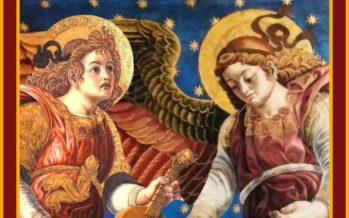 Els Àngels de la Catedral protagonitzen el tapís floral del Corpus