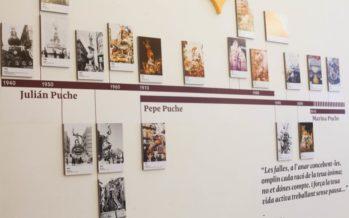 El catàleg de 'Els Puche, arrels de Falles' es presenta este dimecres