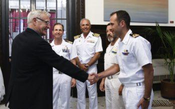 Joan Ribó rep els responsables de l'Esperança del Mediterrani