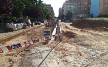 Comencen les obres per a obrir el 'tap' del carrer Riu Bidasoa de València