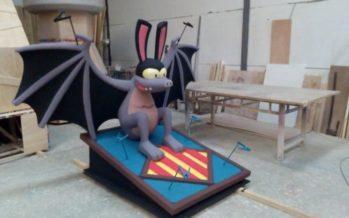 Nova imatge festiva per a la Gran Fira de València: El Ratpenat Valentí