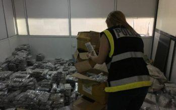 La Policía interviene 378.158 piezas de bisutería falsificada valoradas en 22 millones