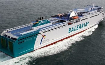 Baleària inicia las conexiones diarias estivales entre la Comunitat Valenciana e Ibiza