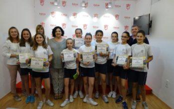 El Concurs Ambiental Escolar de la 'Dipu' reparteix els seus premis als alumnes de Xàtiva