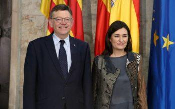 """Puig aplaude el traslado del """"espíritu del Botànic"""" al Ministerio de Sanidad"""