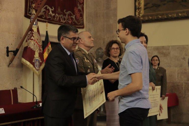 Juan Carlos Fulgencio en la entrega de premios Capitanía General la misma mañana en la que ha criticado el papel de la Policía en la Operación Alquería