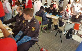 Más de 450 agentes de Policía Nacional y Guardia Civil, en la recepción y asistencia a los migrantes
