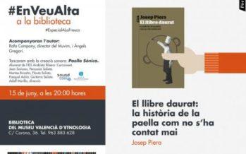 Josep Piera presenta al Museu Valencià d`Etnologia el seu llibre sobre la paella