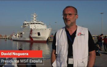 MSF: Los gobiernos europeos deben priorizar las vidas humanas sobre los réditos políticos