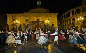 Corpus 2018: Nit d´albaes en la Plaza de la Virgen