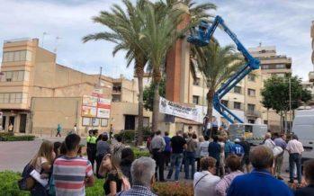 Vall d'Uixó finaliza los trabajos de derribo de la Cruz de los Caídos