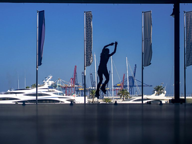 Tercer premio del I Concurso de Fotografía de la Marina de València. Autor: Sergio González López.