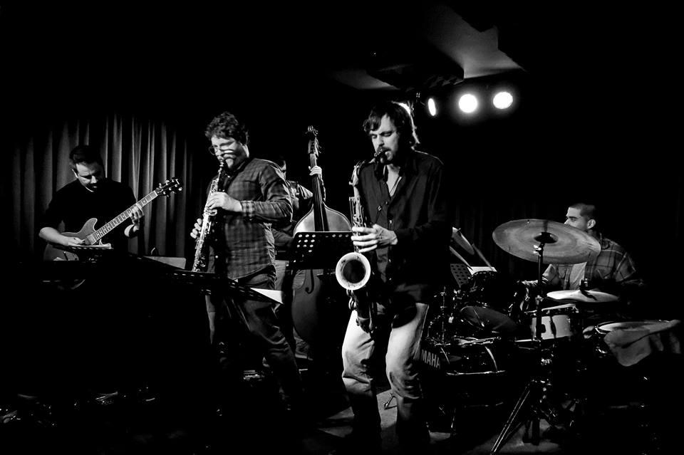 André Fernandes Quintet. Foto de Antonio Porcar