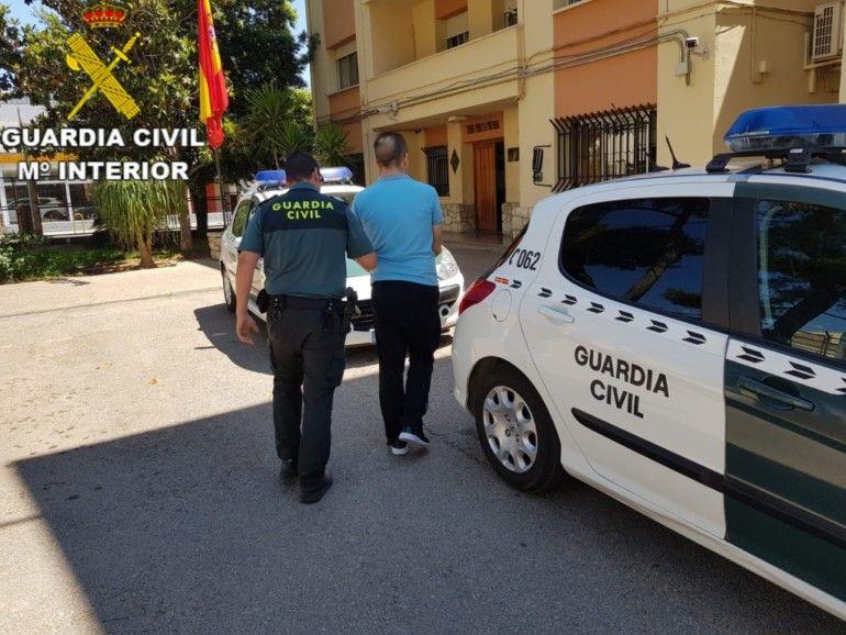 Guardia Civil detenido Requena