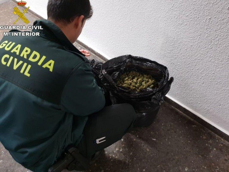 Marihuana Sagunt Guardia Civil