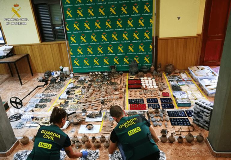 Guardia Civil operacion obras arte