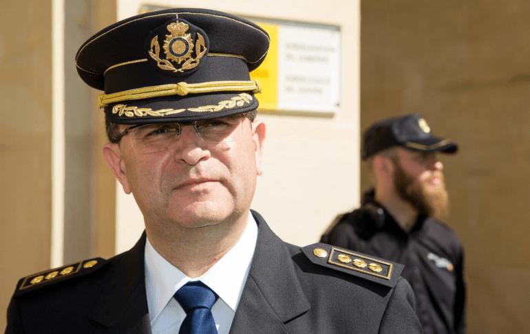 José Javier Cuasante, jefe superior Policia Nacional Comunitat Valenciana