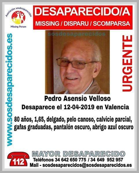 Desaparecido Valencia