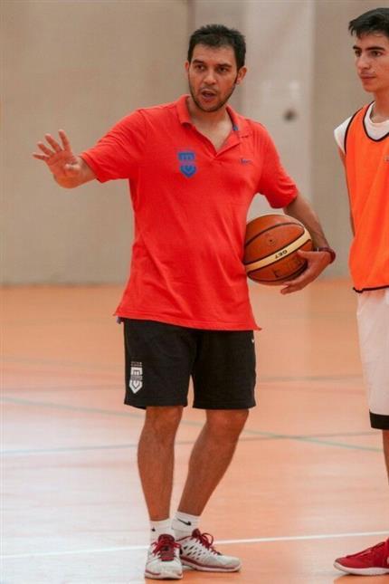 Ferran Pizcueta entrenando