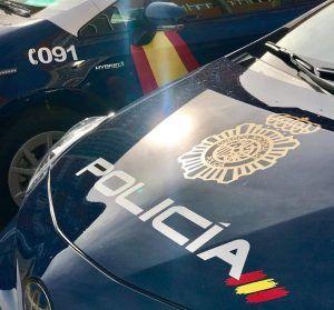 Policía Nacional coche