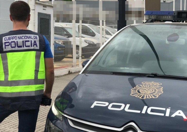 Policia Nacional cconcesionario Gandia