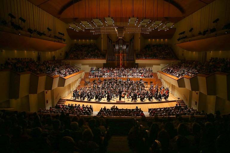 Sala Iturbi del Palau de la Música