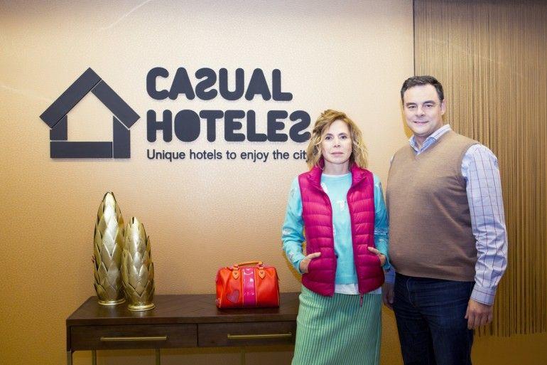 Casual Hoteles Agatha Ruiz de la Prada y Juan Carlos Sanjuán