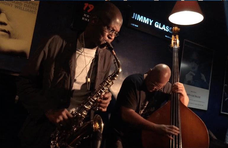 Charles Gayle en Jimmy Glass. Foto: Chevi Martínez