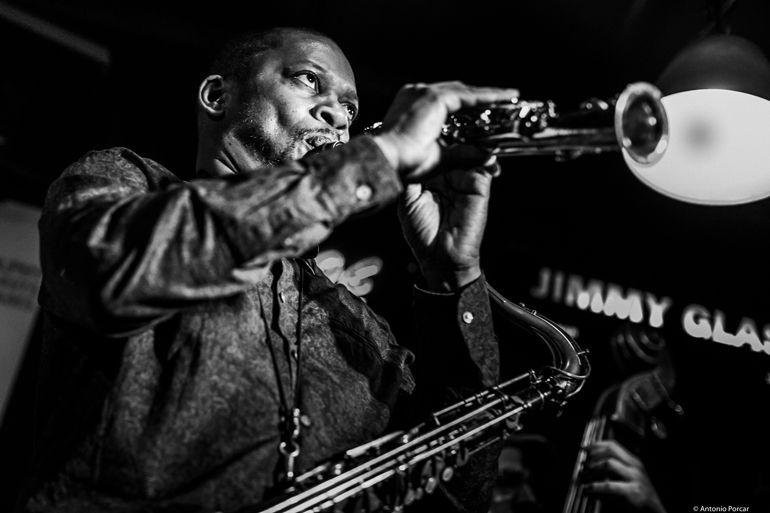 Ravi Coltrane en Jimmy Glass. Foto: A. Porcar