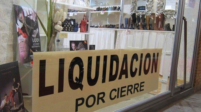 empresa pyme comercio liquidacion por cierre