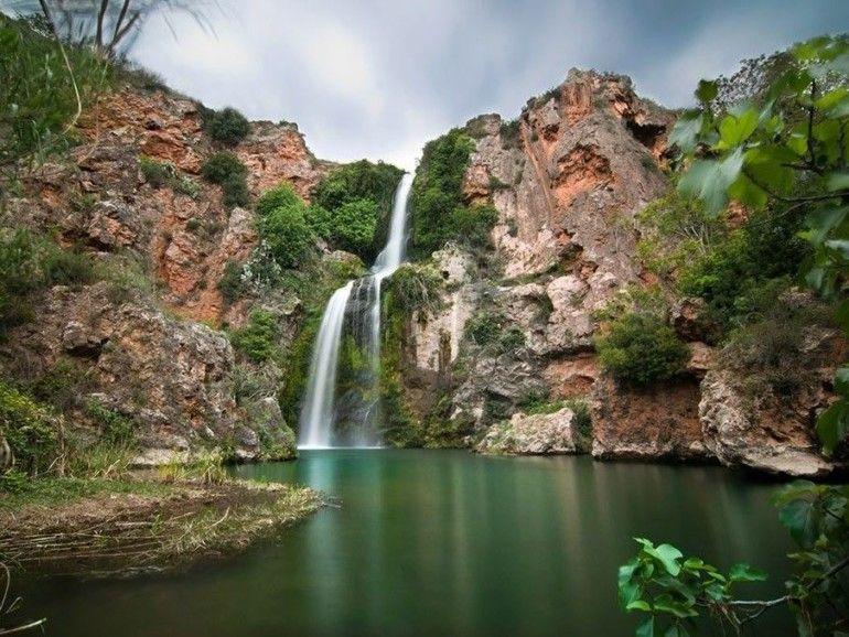 Paraje de El Salto de Chella. Foto: M. Canal de Navarrés