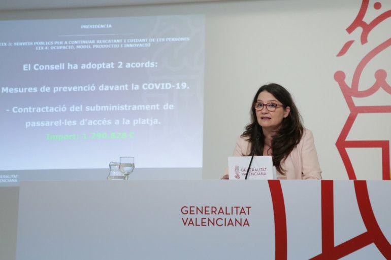 Mónica Oltra Pleno Consell