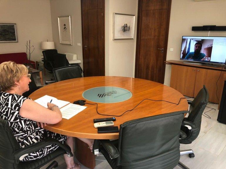 Reunion consellera Sanitat alcalde Rafelbunyol