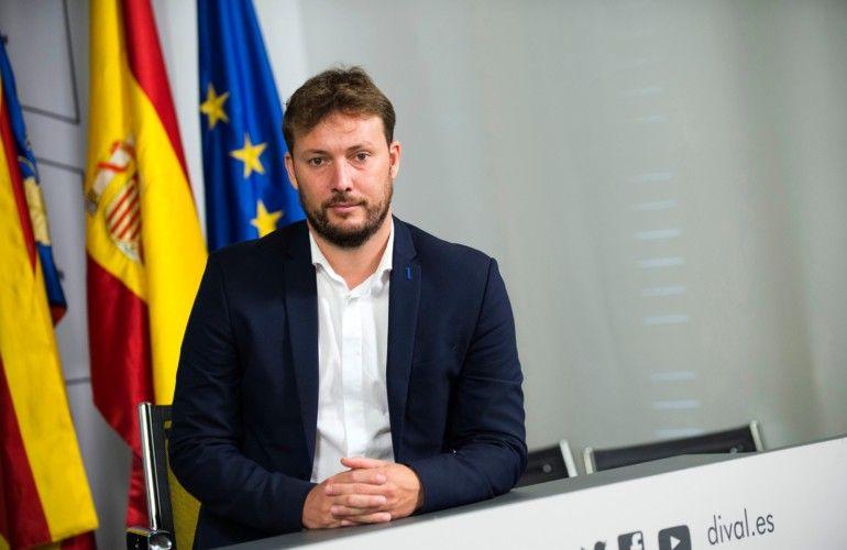 Andrés Campos, diputado de Deportes de la Diputació de València