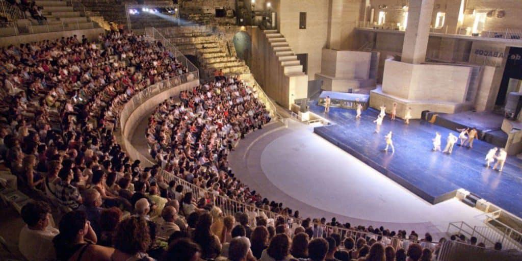Teatro Romano Sagunt a Escena