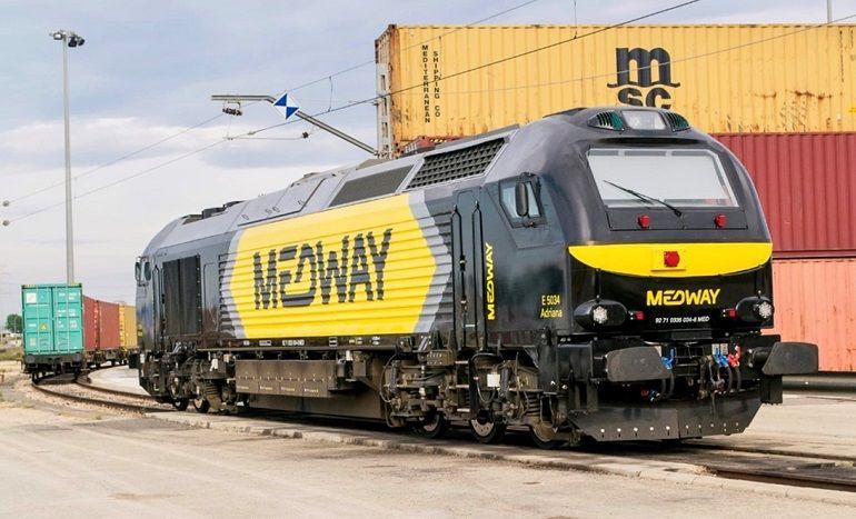 Locomotora ADRIANA de MEDWAY