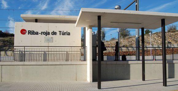 estacion Riba-roja Metrovalencia