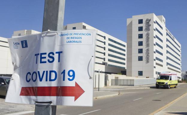 test COVID-19 hospital La Fe