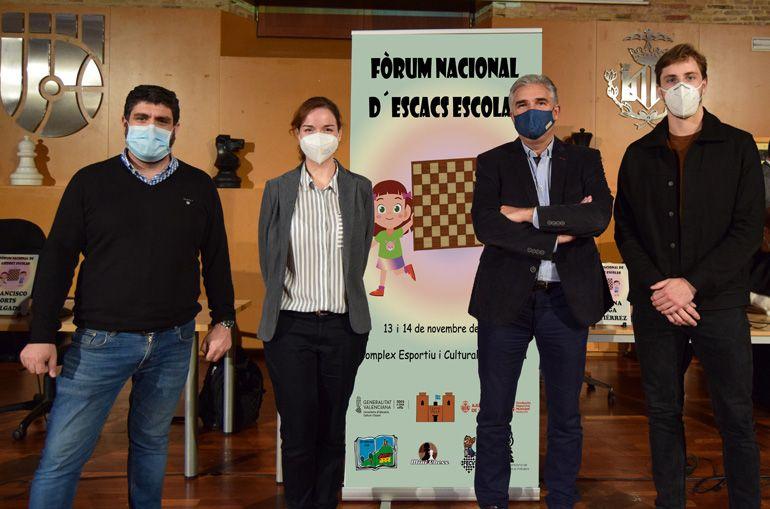 Román Beltrán, Sabrina Vega, Paco Orts (FDM) y Puchol II