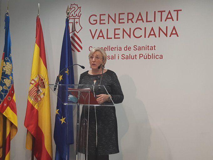 Ana Barceló rueda prensa coronavirus 11 de enero